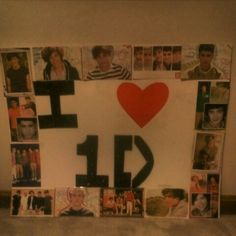 Just made a One Direction poster for the concert im going to :)