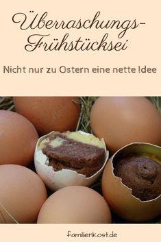 Kuchen in der Eierschale