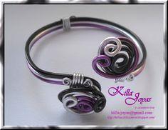 Killa Joyas y Accesorios: y ahora algunas pulseras de aluminio de colores...