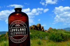 Loveland Aleworks growlette at Devil's Backbone Open Space in Loveland, Colorado