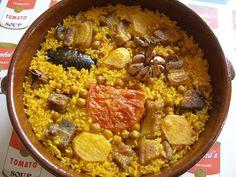 Arroz a la alicantina receta típica de Alicante España