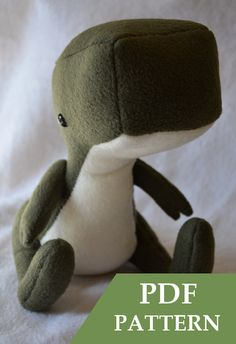 Dinosaur Plush Pattern by catzhu on Etsy