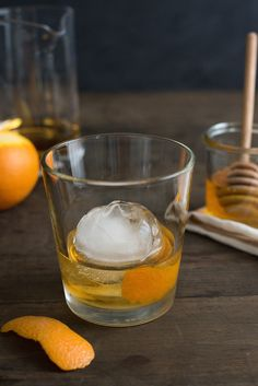 Honey Old Fashioned - A sweet twist on the classic bourbon cocktail.