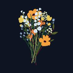 flowershop - GREENHOUSE prints & illustrations by Lotte Dirks