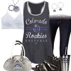 Colorado Rockies Tank Top Outfit