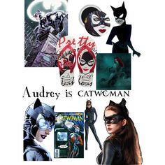 """""""The Catwoman"""" by amccomas on Polyvore"""