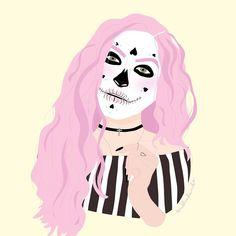 """좋아요 1,395개, 댓글 15개 - Instagram의 Sublinhando por Patricia Leda(@sublinhando)님: """"engraçado que só sei fazer maquiagem nos meus desenhos, na vida real sou uma miséria  happy…"""""""