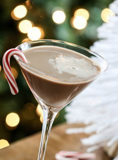 Peppermint Mocha Martini anyone? These tasty holiday cocktails are sure to surprise and delight. #holiday #cocktails #holidayparty #holidaydrinks #eggnog