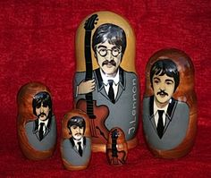 How the Beatles Rocked the Kremlin (Nesting Doll Version)