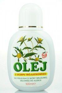 Olej z uczepu trójlistkowego- naturalny środek kosmetyczny do pielęgnacji skóry wrażliwej,