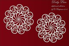 Grote doilies           Pre-order 25-11