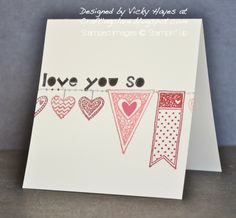 The Language of Love and Stampin' Up sneak peeks