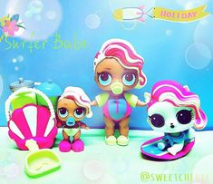 Surfer babe family so cool #lolsurprise #loldolls #lolsurprisedolls #lolpets #lolpet #lolsurprisepets #lolcollection #lolcollector