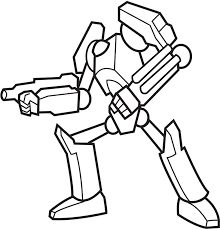 9 Best Robot colouring pages images in 2014 | Coloring ...