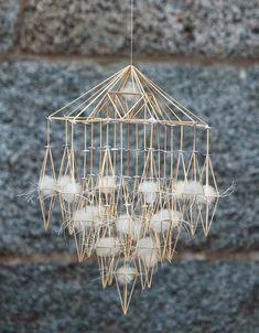 """Sök efter """"peråke backman"""" - Kurbits - din slöjdkompis i inredningsvärlden Candle Lanterns, Candles, Tie Knots, Techno, Diy And Crafts, Chandelier, Ceiling Lights, Traditional, Pendant"""