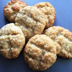 Bolinhas De Coco (Coconut & Semolina Cookies) with Grated Coconut, Semolina, Sugar, Water, Salt, Ghee, Large Egg, Rosewater. Semolina Cookie Recipe, Semolina Pudding, Clarified Butter, Large Egg, Cookies, Cookie Recipes, Pineapple, Coconut, Treats