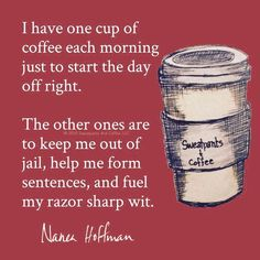 Ideas For Quotes Happy Family Coffee Humor Coffee Talk, Coffee Is Life, I Love Coffee, Coffee Break, My Coffee, Morning Coffee, Coffee Shop, Coffee Cups, Happy Coffee