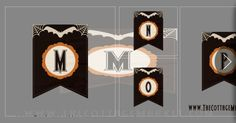 Free Printable Halloween Banner Letters