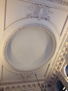 Ramblin' with AM: Ceiling, Security Mutual building - December 2012