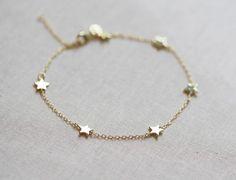 Star Bracelet | Delicate Chain Bracelet