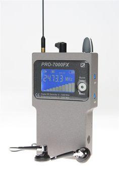 Détecteur Professionnel PRO7000.  Fréquence jusqu'à 7.2 GHz.  Notre meilleure vente de détecteur professionnel .