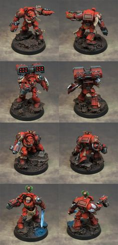 I'm curious about how they did the sword glow effect - Blood Angels, Space Hulk, Terminator Armor, Warhammer 40,000