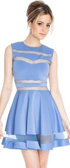 Sexy Peek-a-boo Dress