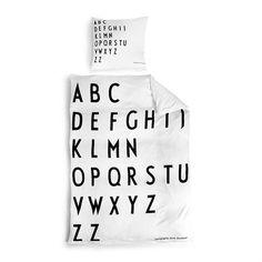 Design Letters dekbedovertrek - 140 x 200 cm. - Design Letters