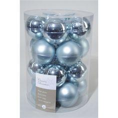 Kerstballen Effen Blauw - Tuinland, liefde voor groen