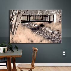 You'll love the Bridge Over Wash Photographic Print on Canvas at Wayfair - Great Deals on all Décor  products with Free Shipping on most stuff, even the big stuff.