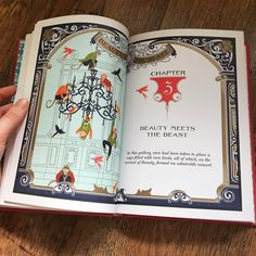 Beauty and the Beast book by minalima designs