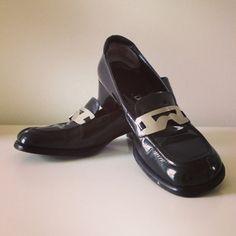 Prada Прада туфли винтаж женские туфли made in от woolpleasure