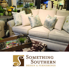 Comfort and style can go hand in hand with furniture from Something Southern in Mississippi.