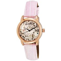 August Steiner Women's Skeleton Automatic Strap Watch - Overstock Shopping - Big Discounts on August Steiner August Steiner Women's Watches