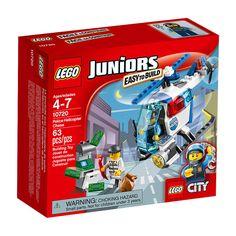 Lego Juniors 10720 Police Helicopter Chase Set New/Sealed!! 63pcs Ages 4+ #Lego