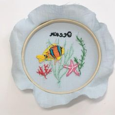 Hand Embroidery Patterns Free, Hand Embroidery Videos, Embroidery Stitches Tutorial, Embroidery Flowers Pattern, Learn Embroidery, Hand Embroidery Designs, Embroidery Kits, Embroidery Hoops, Modern Embroidery