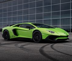 Lamborghini Aventador Super Veloce Coupe painted in Verde Ithaca  Photo taken by: Sven Klittich on Flickr