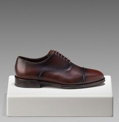 Oxford Shoe With Laces from Massimo Dutti