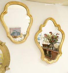 Pareja de espejos de estilo frances 5 Genoves Atelier