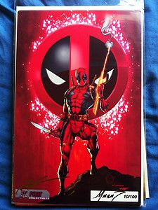 ROB LIEFELD *SIGNED* Comic Books Deadpool Captain America Youngblood proof  http://r.ebay.com/B8urYx