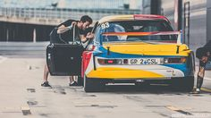 BMW 3.0CSL is a Speeding Art Exhibit - Photography by Peter Aylward