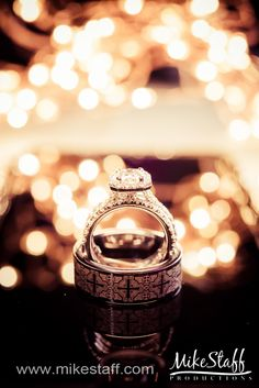 Beautiful wedding ring with engraved men's wedding band #Michiganwedding #Chicagowedding #MikeStaffProductions #wedding #reception #weddingphotography #weddingdj #weddingvideography #wedding #photos #wedding #pictures #ideas #planning #DJ #photography #rings #engagementring