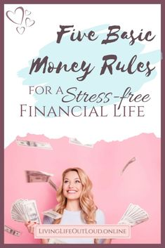 One of life's biggest stressors can be money. After my own personal struggles, here are the basic rules that I now use to live a stress-free financial life. Financial Stress, Financial Peace, Financial Planning, Get My First Job, Budget App, College Fund, Simple Math, The Hard Way, Joy And Happiness