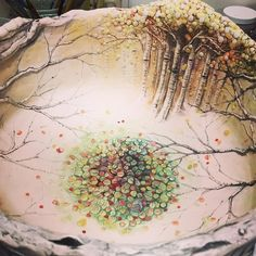 La nuit blanche - turecepcja:   Ceramics by Heesoo Lee  Heesoo Lee... Vintage Tableware, Pottery Sculpture, Vase, Pottery Painting, Ceramic Artists, Photo And Video, Wall Tiles, Bowls, Design Ideas