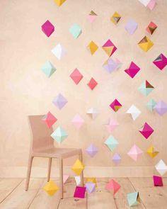 「Party Origami」折り紙を外国人のセンスでおしゃれに飾り付けるアイデア15選