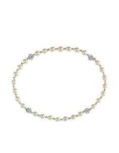 Sterling Silver Mini Pearl