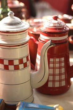 Graniteware pots