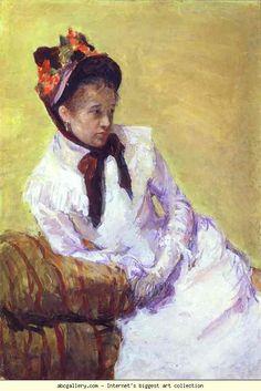 Mary Cassattin omakuva