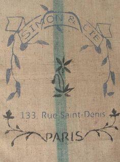 French grain sack