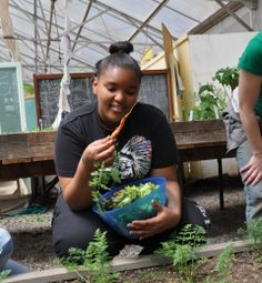 Oregon State University Extension Service is reconnecting people with their food and landscapes. In Portland, it provides technical support to dozens of community gardens. It also operates the Learning Gardens Laboratory, where it runs a program that teaches students where their food comes from and how to eat healthily.